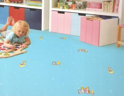 凯立龙卡通乐园-凯立龙幼儿园儿童pvc塑胶地板