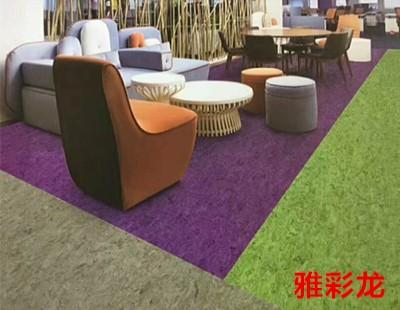 大巨龙雅彩龙地板-大巨龙密实底商用卷材pvc地板