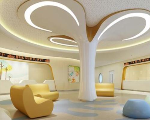大巨龙塑胶地板-色彩在儿童医院各个功能区域的
