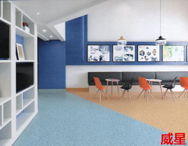 卡曼国际-卡曼威星商用卷材塑胶地板
